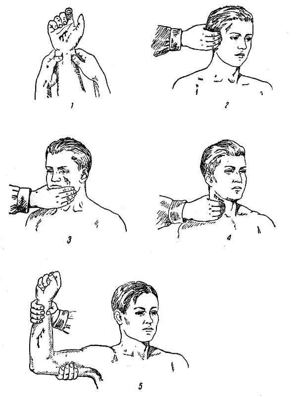 Пальцьове притиснення артерії